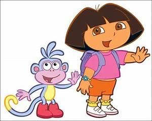 American top cartoons: Dora the explorer, Dora and boots