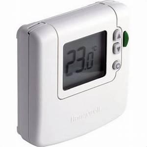 Thermostat D Ambiance Filaire : thermostat d 39 ambiance filaire digital dt90 39 39 honeywell ~ Melissatoandfro.com Idées de Décoration