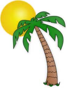 palm tree border clipart best