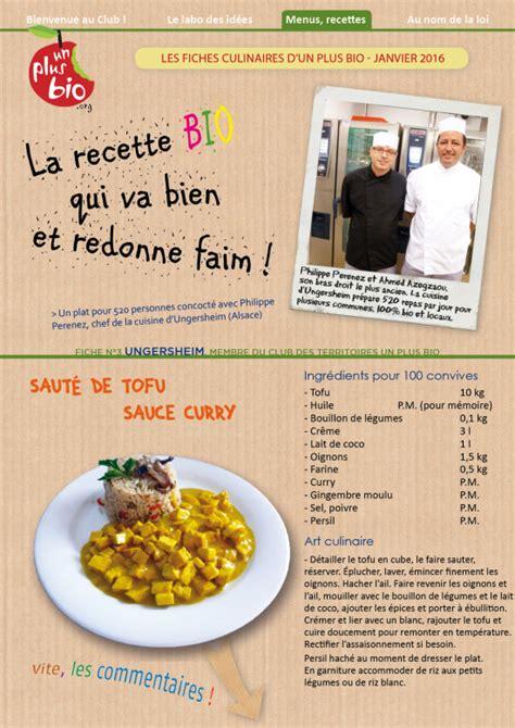 fiche technique recette cuisine nos ressources archives page 6 sur 42 un plus bio