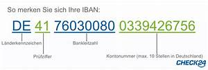 Iban Nr Berechnen : sepa und iban alles zur sepa umstellung check24 ~ Themetempest.com Abrechnung