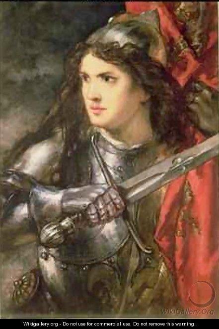 Joan Of Arc Sir John Gilbert The