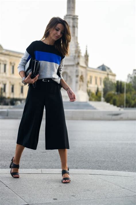 How to wear culottes to the office and look totally chic