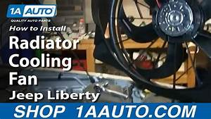 How To Replace Radiator Cooling Fan 06
