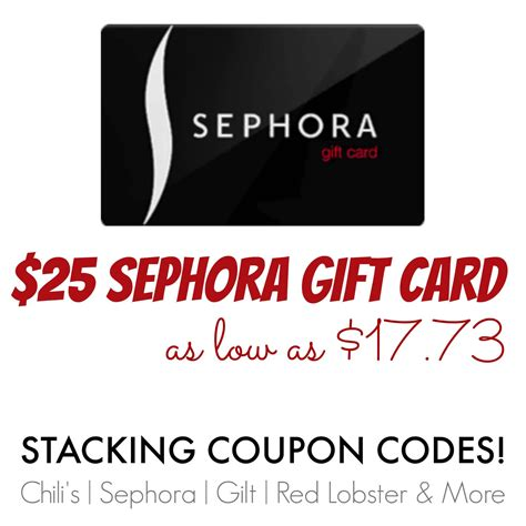 Sephora credit card rewards are issued in $5 increments with your billing statement. $25 Sephora Gift Card As Low As $17.73!