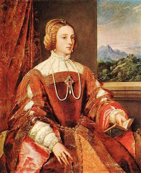 Isabella Portugal Tiziano Vecelli Titian