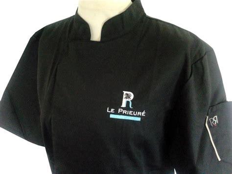 veste de cuisine noir références entreprises artisans tabliers et vestes de