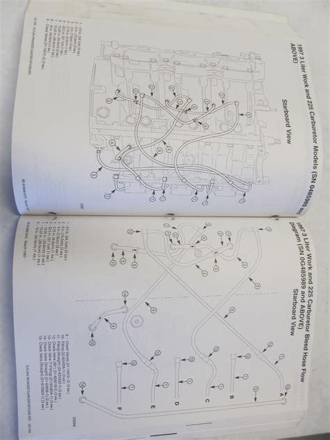 mercury mariner outboard technicians handbook volume