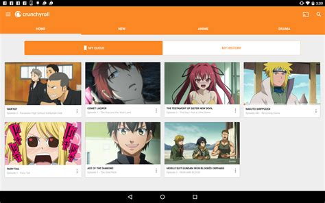 anime in crunchyroll crunchyroll anime and drama android apps on play
