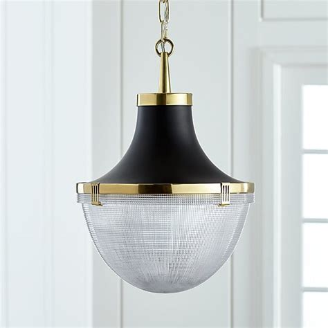 Windsor Brass Robert Abbey Pendant   Crate and Barrel
