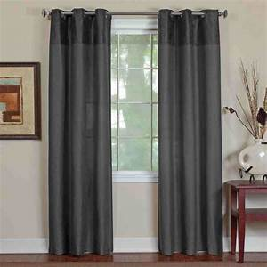 Living room modern simple living room idea with dark gray for Modern curtains for living room 2014