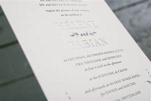 press39d letterpress wedding invitation ideas from bella With wedding invitations zurich switzerland
