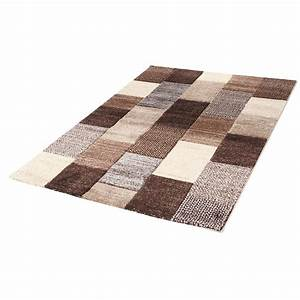 tapis charly 160 x 230 cm beige marron 21625 achat With tapis 160 x 230