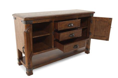 Rubberwood Sideboard by 58 Quot Solid Rubberwood Buffet In Golden Oak Mathis