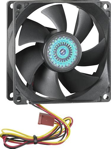 Best Buy: Insignia? 80mm Case Cooling Fan Black NS PCF8050