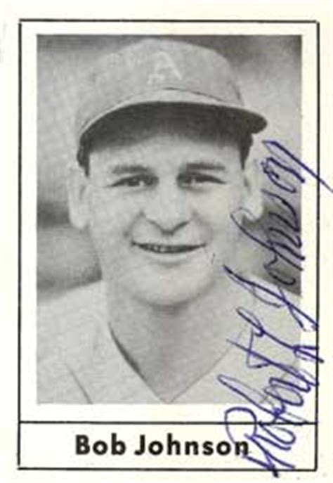 Bob Johnson Baseball Stats by Baseball Almanac