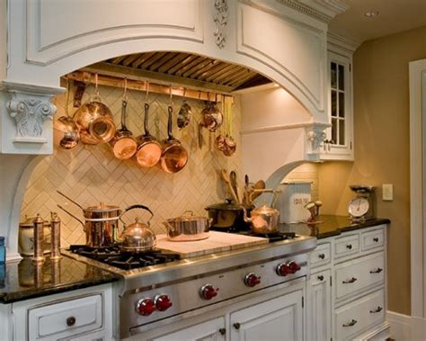 copper pot rack houzz