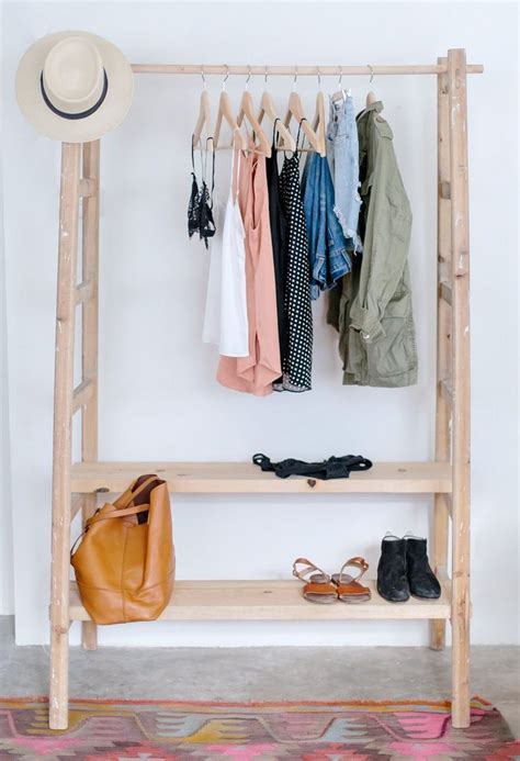 build  clothes rack  wood woodworking
