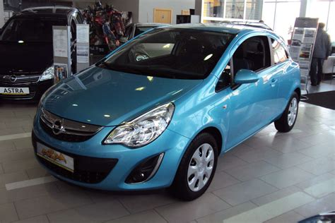 Opel Corsa 2012 by 2012 Opel Corsa Photos 1 3 Gasoline Ff Manual For Sale