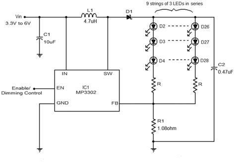 led driver circuit diagram  mp gadgetronicx