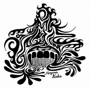 Vampire Bite Tribal by iMAGGInary on DeviantArt