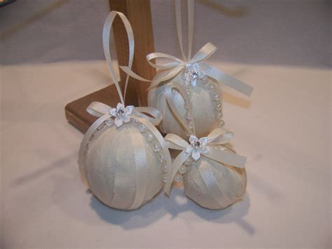 shabby chic christmas decorations to make shabby country chic ornaments for christmas or wedding