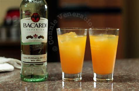 rum cocktail orange pineapple and rum cocktail casa veneracion