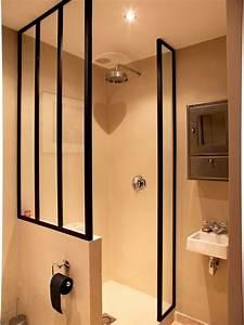 dans un interieur trop sombre ou trop petit la verriere With fabriquer porte douche