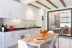 Duplex Patio Apartment In Barcelona
