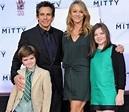 Ben Stiller & Christine Taylor & kids   Christine taylor ...