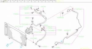2013 Subaru Forester Hose Pressure Dischage  Hose Pd