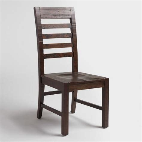 distressed dining chairs distressed wood donnovan dining chairs set of 2 world market 3374