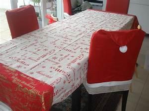 Nappe Papier Noel : un peu de couture table de no l ~ Teatrodelosmanantiales.com Idées de Décoration