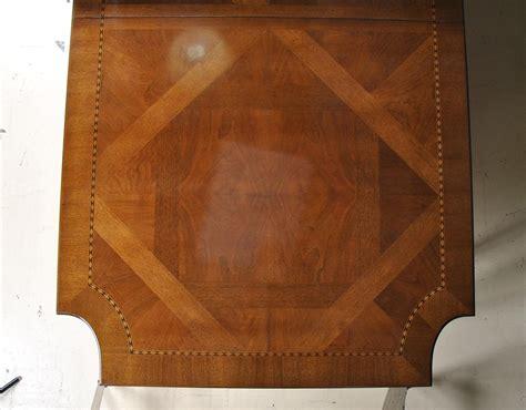 ej victor  newport  leg walnut dining table