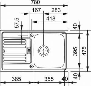 Franke Spüle Ersatzteile : franke sp le euroform efl 614 78 aus edelstahl leinen ausschnittsma 760 x 455 mm ~ Orissabook.com Haus und Dekorationen