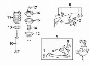 Gmc Sierra 1500 Shock Absorber  Front   Suspension  Code