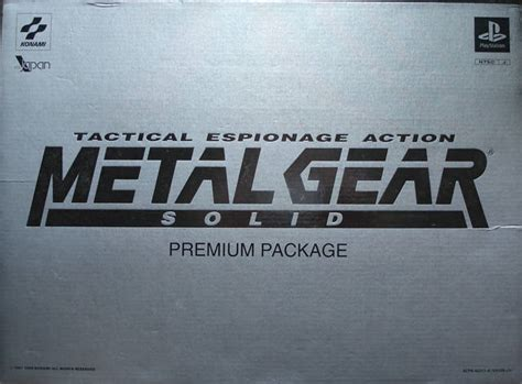 Metal Gear Solid Box Shot For Playstation