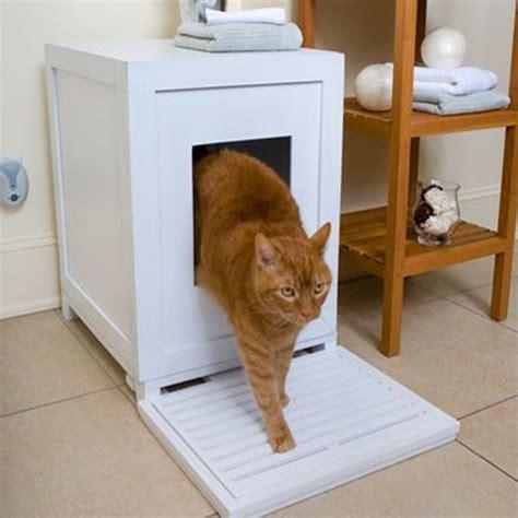 creative ways  hide cat litter trays ideal home