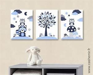 Tableau Chambre Bébé Garçon : tableau d co bebe garcon ~ Melissatoandfro.com Idées de Décoration