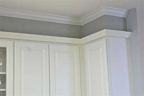 gap between cabinet and wall fixing that gap between the cabinets and the ceiling