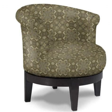best quot attica quot swivel barrel chair custom fabrics