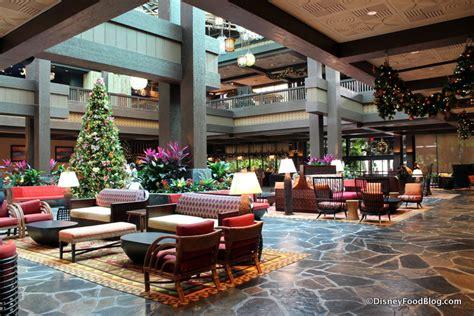 photo   review  polynesian village resort lobby