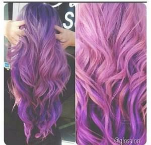 Pink purple hair | 50 shades of purple/blue/pink hair ...