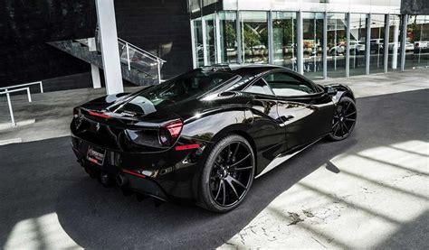 Запчасти на ferrari 488 pista. Black on Black Ferrari 488 by Forgiato | Ferrari california, Ferrari 488, Super cars