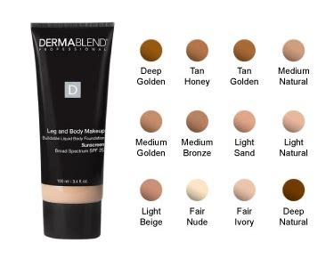 Dermablend Leg And Body Makeup  Ariva Makeup