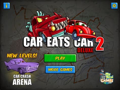 Car Eats Car 2 Deluxe Arena Game Walkthrough Level (1