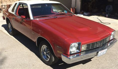 1975 Chevrolet Monza Town Coupe V8 Chevy