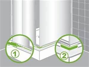 Comment Refaire Les Joint D Une Douche Pour étanchéité : comment installer une paroi de douche d 39 angle ou de face ~ Zukunftsfamilie.com Idées de Décoration