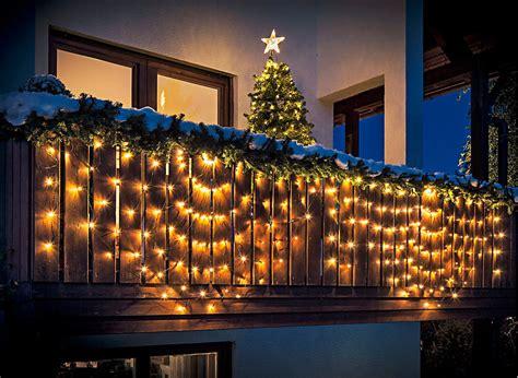 Weihnachtsdeko Fenster Bogen by Lichterkette Lichtervorhang Balkon Bogen 240 Leds 5m Au 223 En