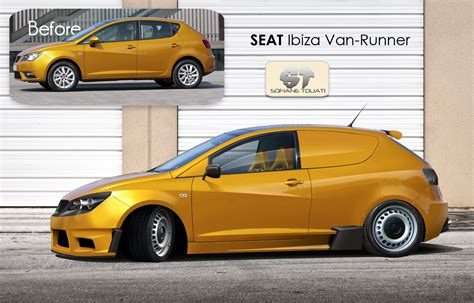 Seat Ibiza Tuning by Seat Ibiza Runner Tuning By Sofianetouati On